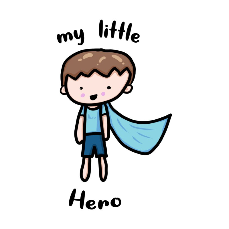 my little Hero Kids Pullover Hoody by Magic Pixel's Artist Shop