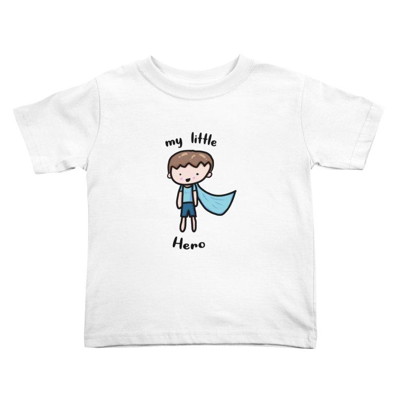 my little Hero Kids Toddler T-Shirt by Magic Pixel's Artist Shop