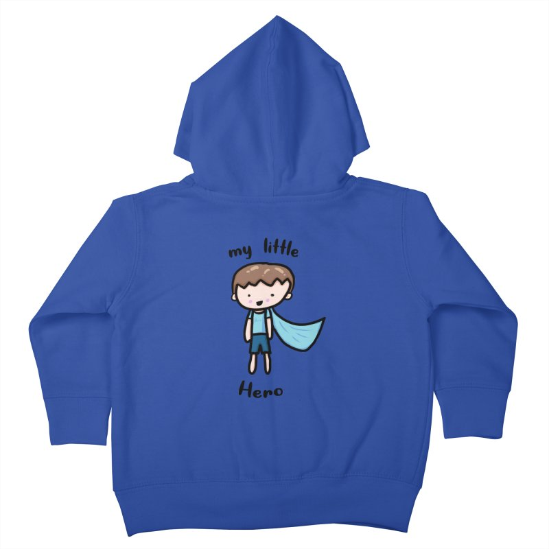 my little Hero Kids Toddler Zip-Up Hoody by Magic Pixel's Artist Shop