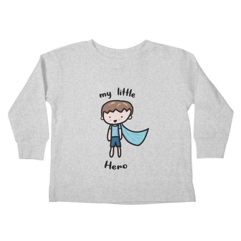 my little Hero Kids Toddler Longsleeve T-Shirt by Magic Pixel's Artist Shop