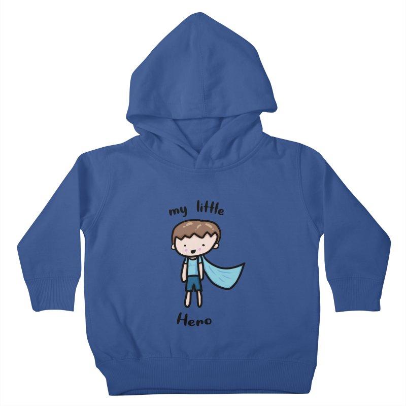 my little Hero Kids Toddler Pullover Hoody by Magic Pixel's Artist Shop