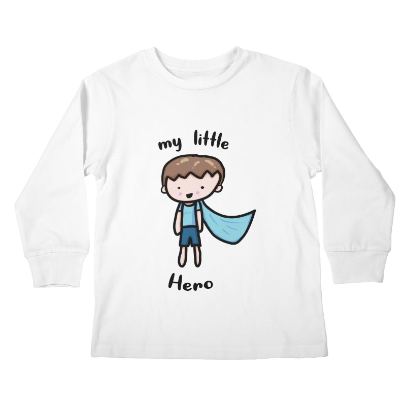 my little Hero Kids Longsleeve T-Shirt by Magic Pixel's Artist Shop