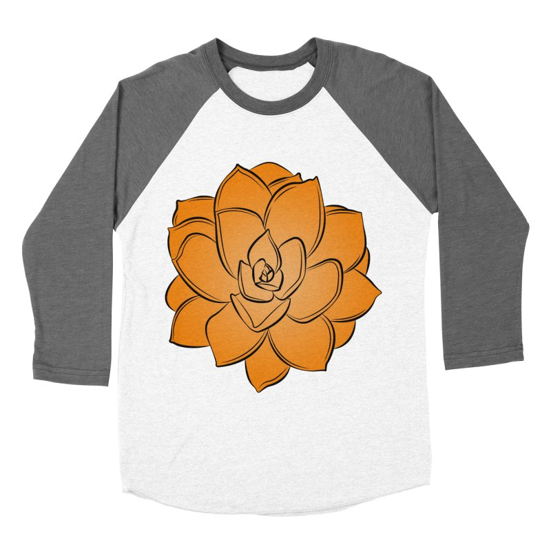 Bright Cactus Rose Women's Longsleeve T-Shirt by Magic Pixel's Artist Shop