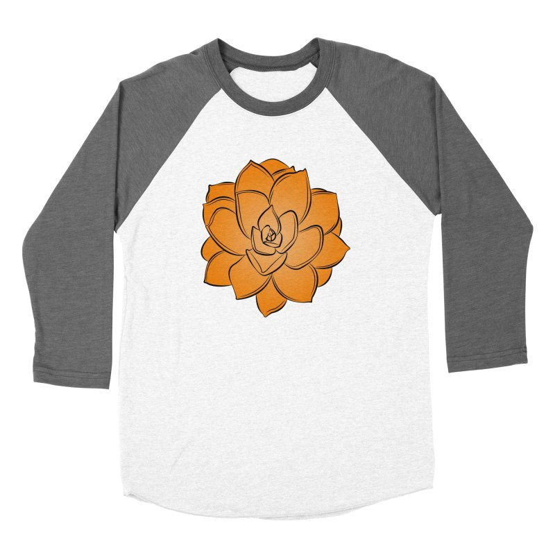 Bright Cactus Rose Women's Longsleeve T-Shirt by Magic Pixel's Artist Shop