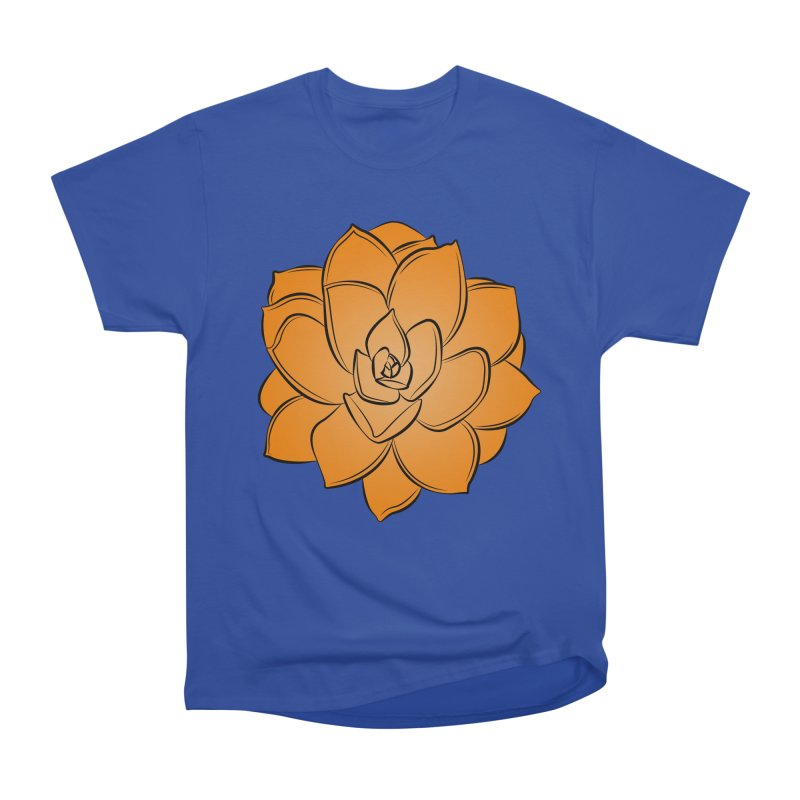 Bright Cactus Rose Women's Heavyweight Unisex T-Shirt by Magic Pixel's Artist Shop