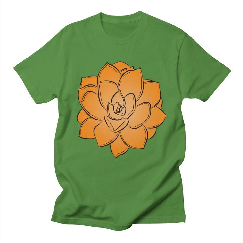 Bright Cactus Rose Women's Regular Unisex T-Shirt by Magic Pixel's Artist Shop
