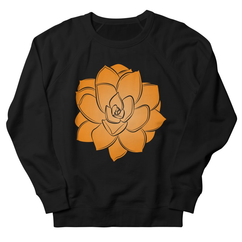 Bright Cactus Rose Women's French Terry Sweatshirt by Magic Pixel's Artist Shop