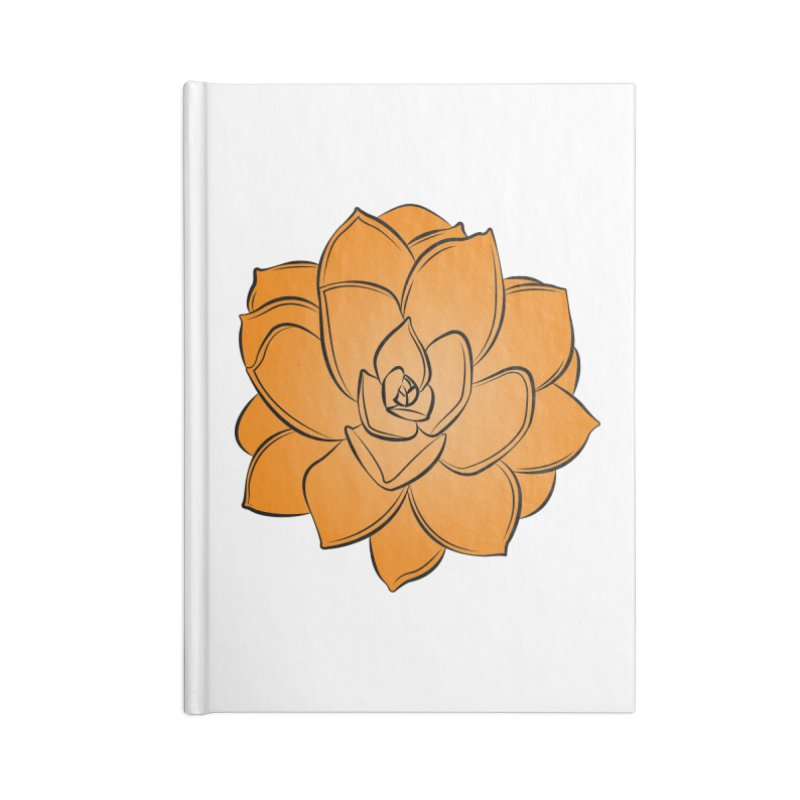 Bright Cactus Rose Accessories Blank Journal Notebook by Magic Pixel's Artist Shop
