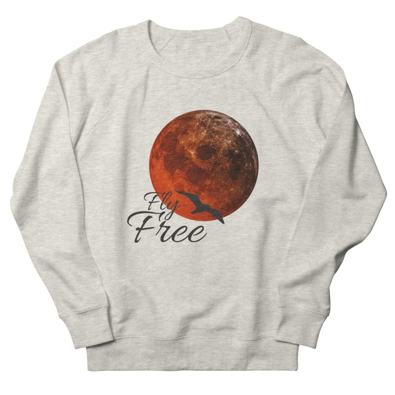 Fly Free Men's Sweatshirt by Magic Pixel's Artist Shop