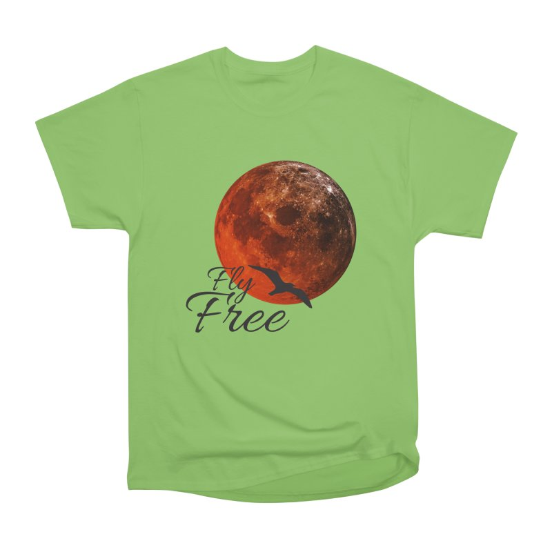 Fly Free Women's Heavyweight Unisex T-Shirt by Magic Pixel's Artist Shop