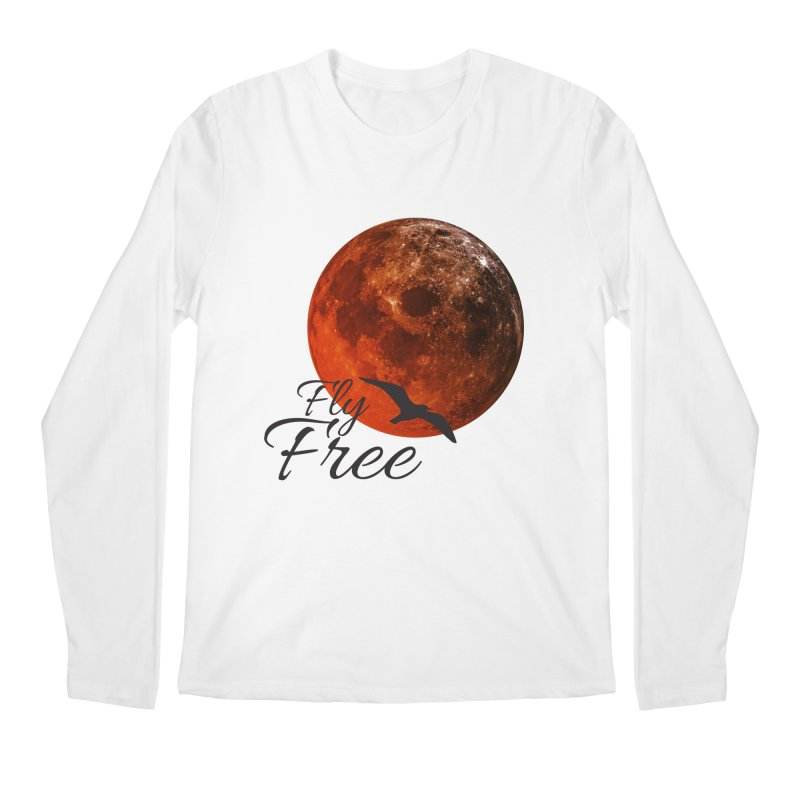 Fly Free Men's Regular Longsleeve T-Shirt by Magic Pixel's Artist Shop