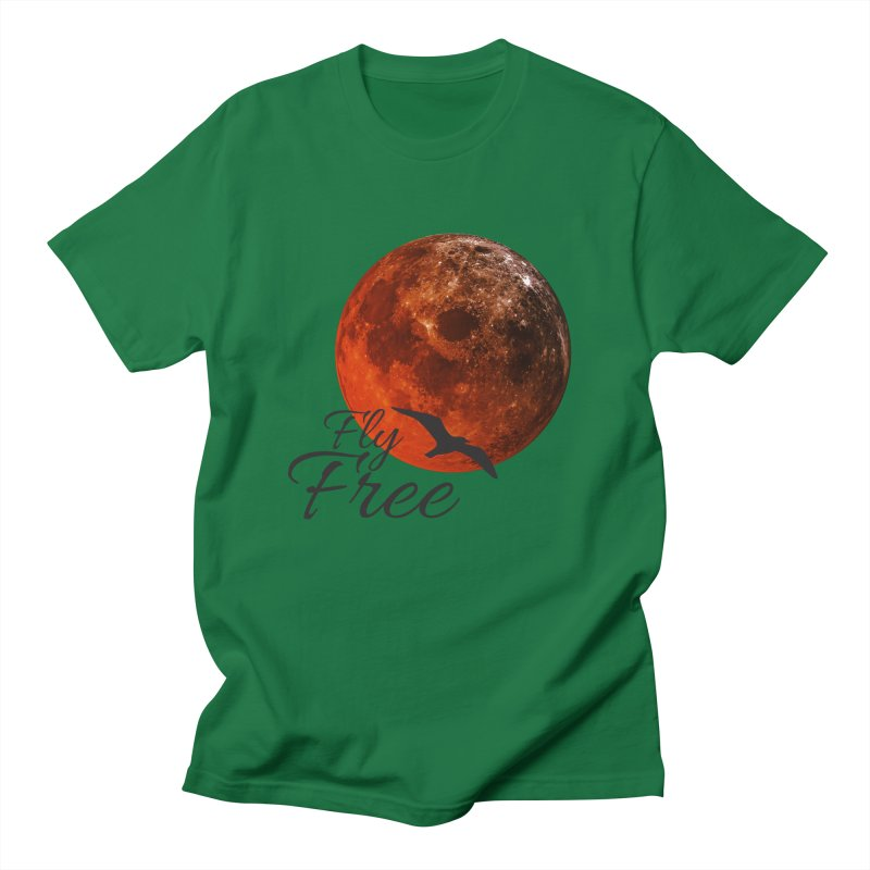 Fly Free Men's T-Shirt by Magic Pixel's Artist Shop