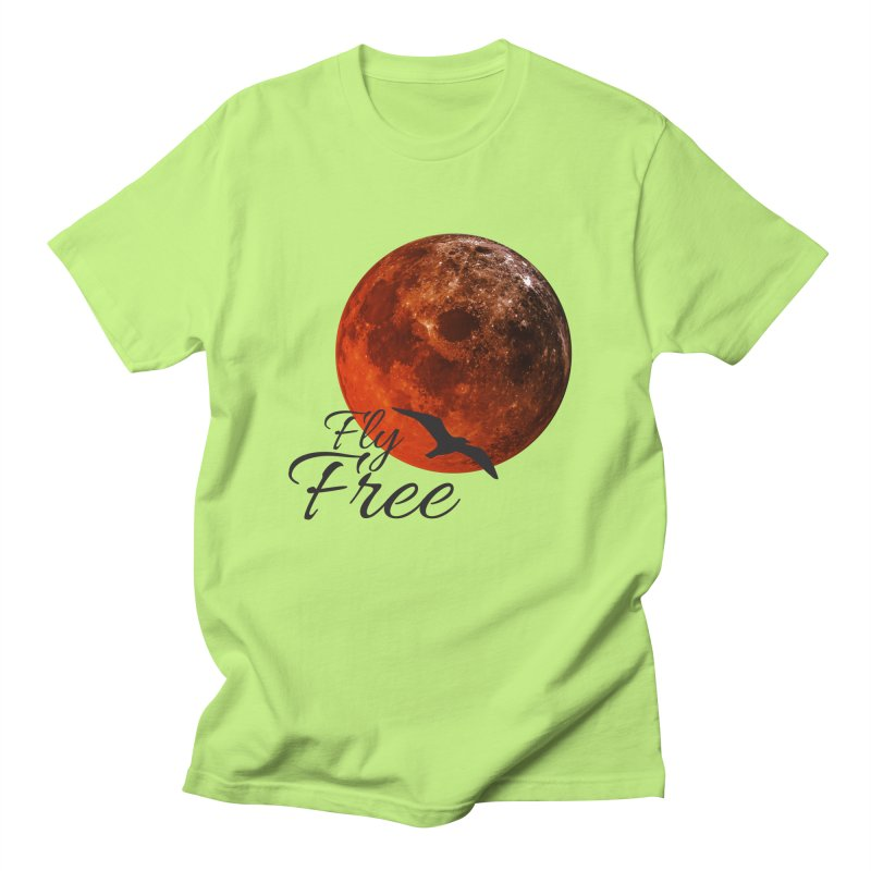 Fly Free Men's T-Shirt by Magic Pixel's Artist Shop