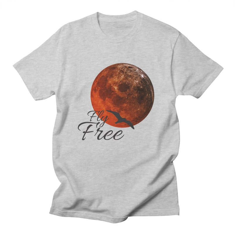 Fly Free Men's Regular T-Shirt by Magic Pixel's Artist Shop