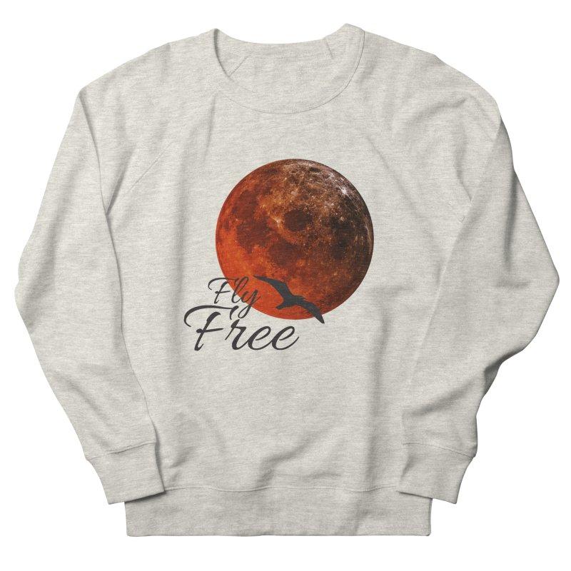 Fly Free Women's French Terry Sweatshirt by Magic Pixel's Artist Shop