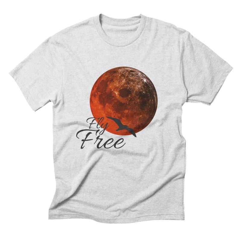 Fly Free Men's Triblend T-Shirt by Magic Pixel's Artist Shop