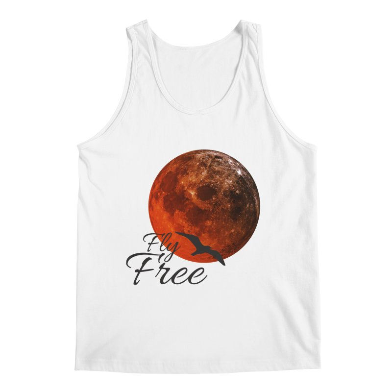 Fly Free Men's Tank by Magic Pixel's Artist Shop
