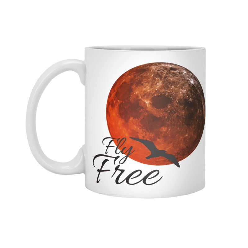 Fly Free Accessories Standard Mug by Magic Pixel's Artist Shop