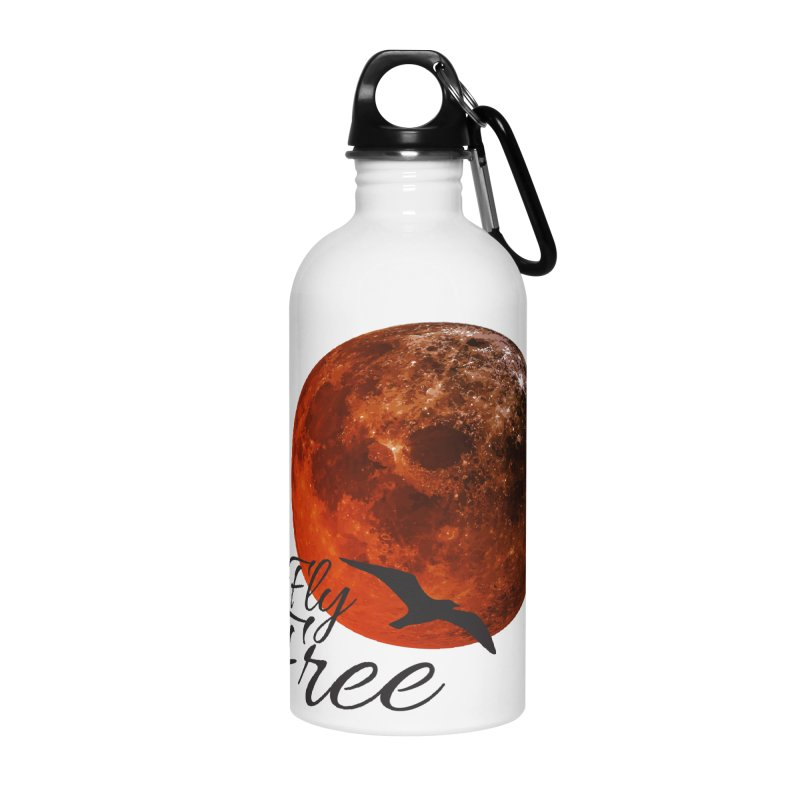 Fly Free Accessories Water Bottle by Magic Pixel's Artist Shop
