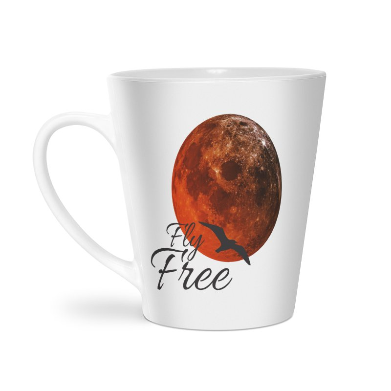 Fly Free Accessories Latte Mug by Magic Pixel's Artist Shop