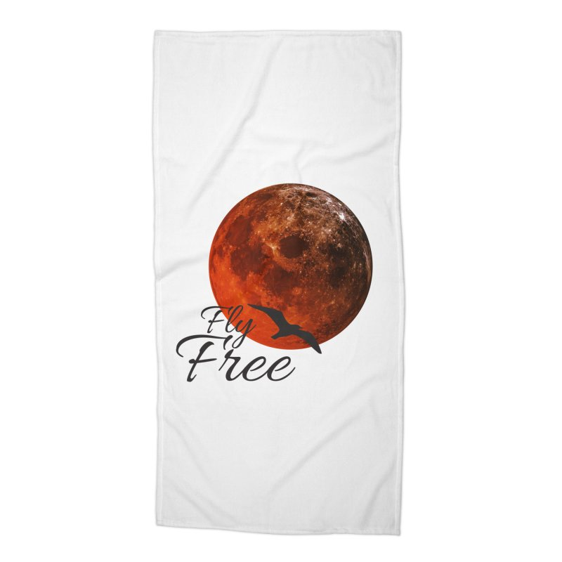 Fly Free Accessories Beach Towel by Magic Pixel's Artist Shop