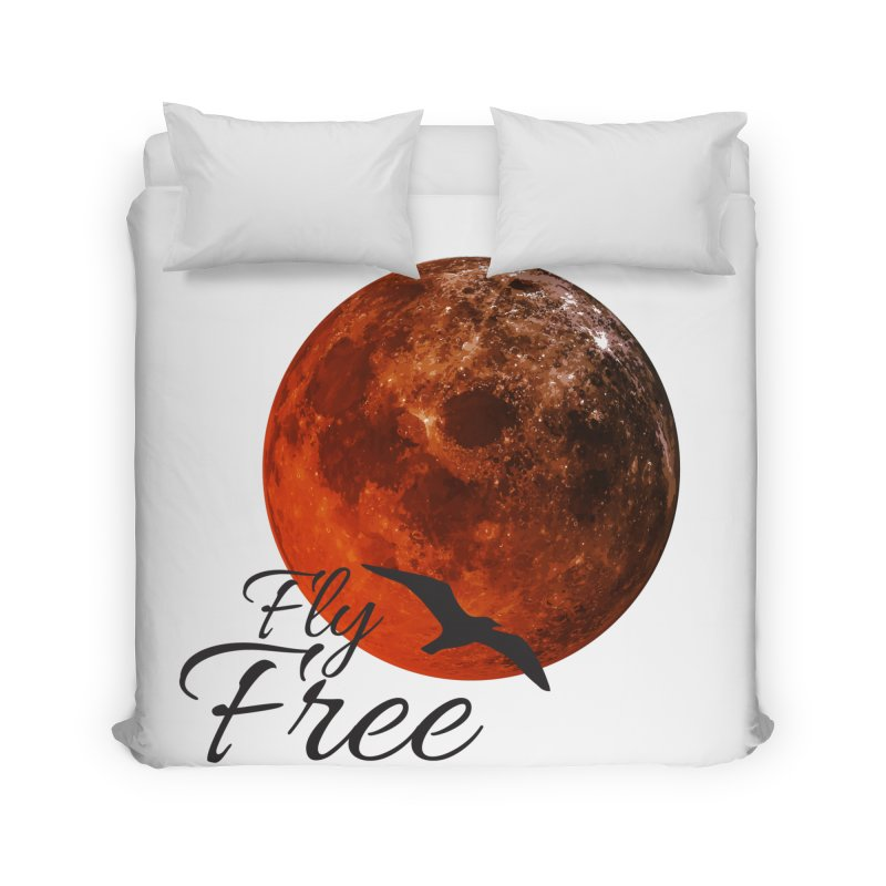 Fly Free Home Duvet by Magic Pixel's Artist Shop
