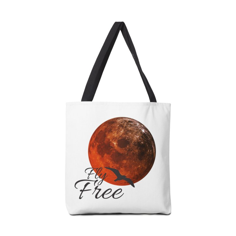 Fly Free Accessories Tote Bag Bag by Magic Pixel's Artist Shop