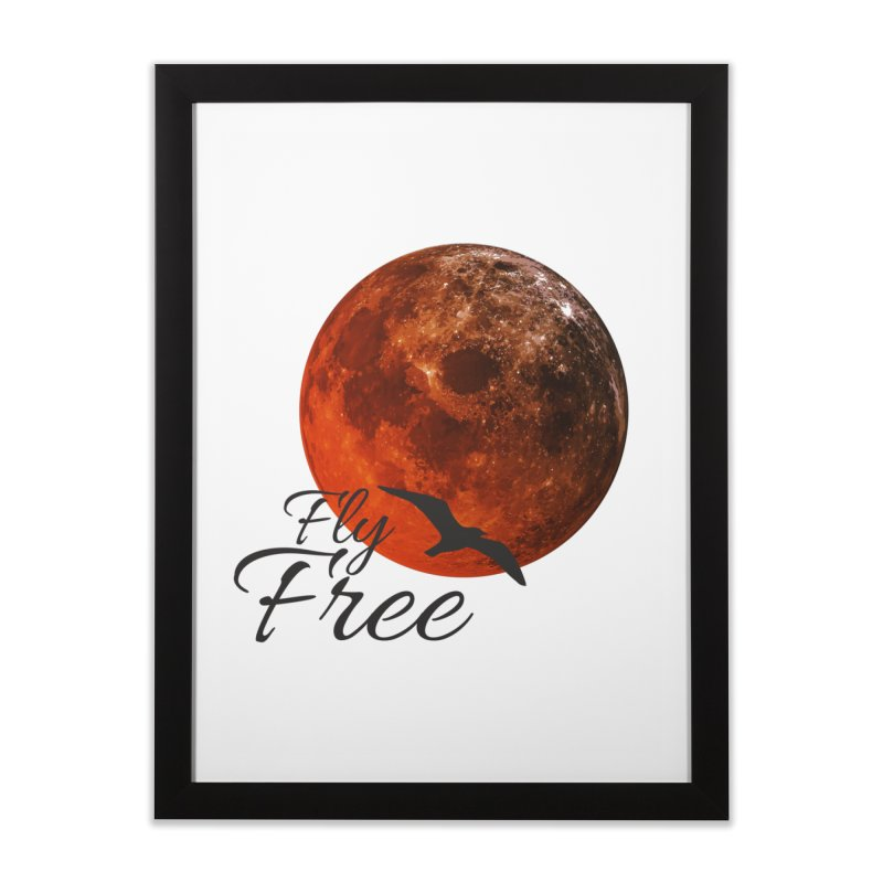 Fly Free Home Framed Fine Art Print by Magic Pixel's Artist Shop