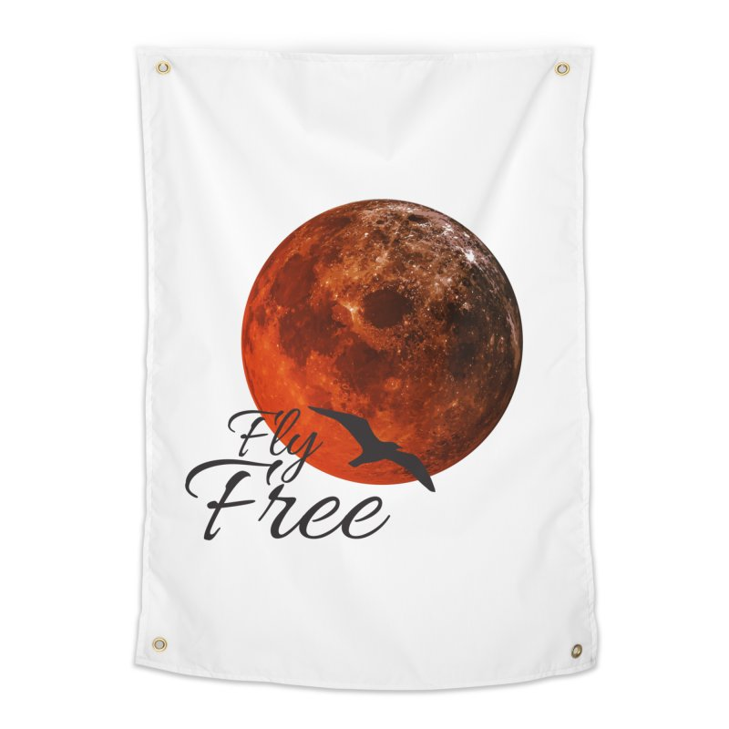 Fly Free Home Tapestry by Magic Pixel's Artist Shop