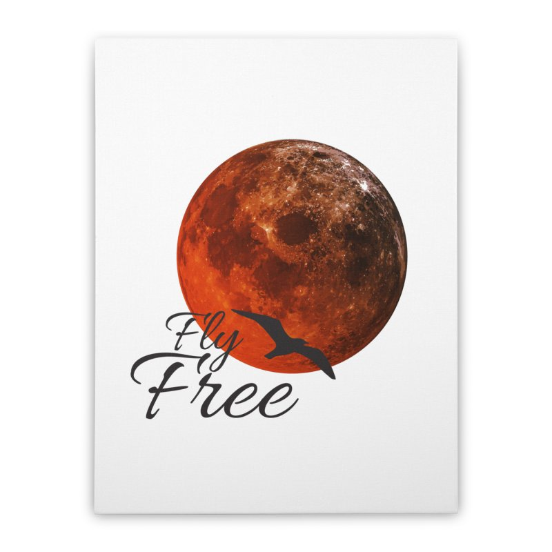 Fly Free Home Stretched Canvas by Magic Pixel's Artist Shop
