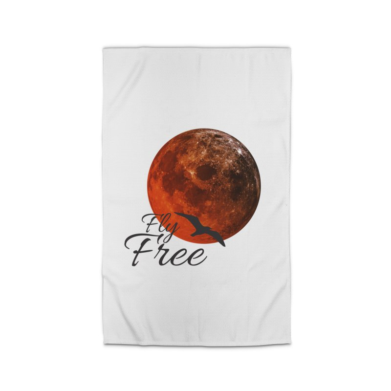 Fly Free Home Rug by Magic Pixel's Artist Shop