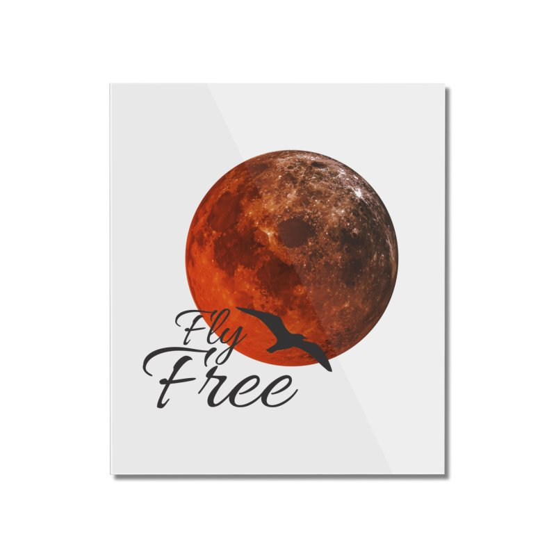 Fly Free Home Mounted Acrylic Print by Magic Pixel's Artist Shop
