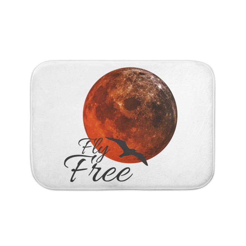 Fly Free Home Bath Mat by Magic Pixel's Artist Shop