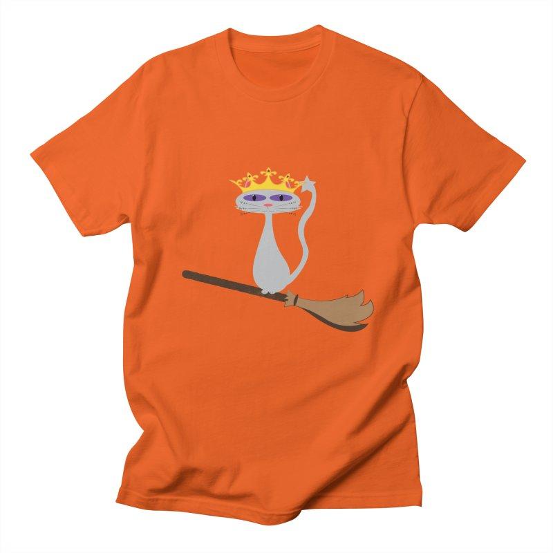 Princess Meera on a Broomstick Women's Regular Unisex T-Shirt by Magic Pixel's Artist Shop