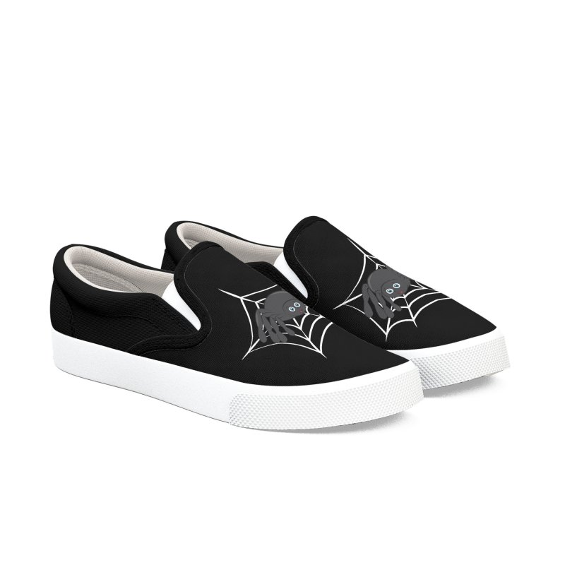 Halloween Spider Women's Slip-On Shoes by Magic Pixel's Artist Shop