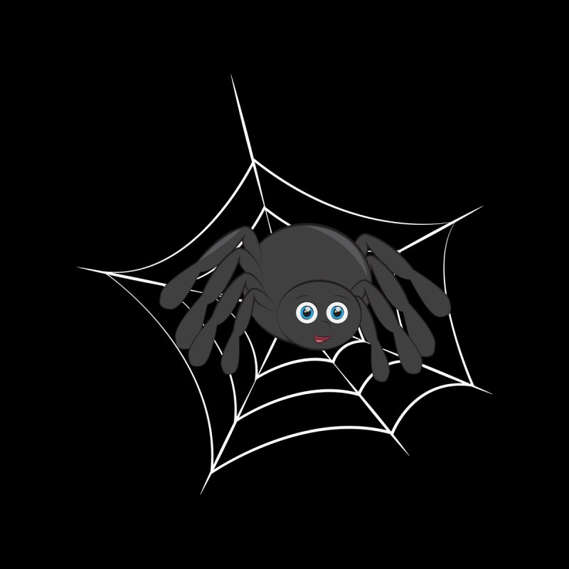 Halloween Spider Women's V-Neck by Magic Pixel's Artist Shop