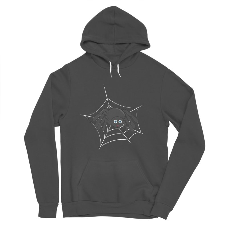 Halloween Spider Men's Sponge Fleece Pullover Hoody by Magic Pixel's Artist Shop