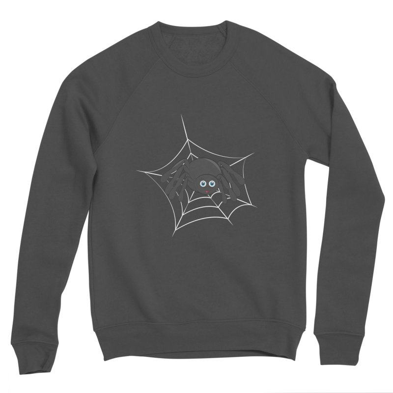 Halloween Spider Men's Sponge Fleece Sweatshirt by Magic Pixel's Artist Shop