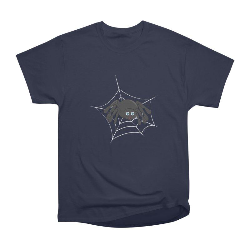 Halloween Spider Women's Heavyweight Unisex T-Shirt by Magic Pixel's Artist Shop