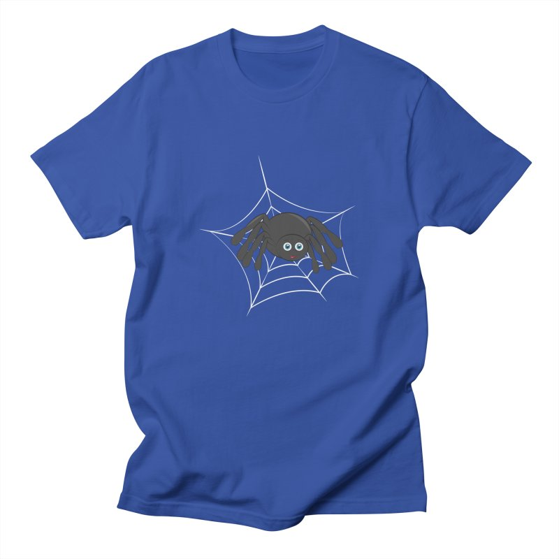 Halloween Spider Women's Regular Unisex T-Shirt by Magic Pixel's Artist Shop