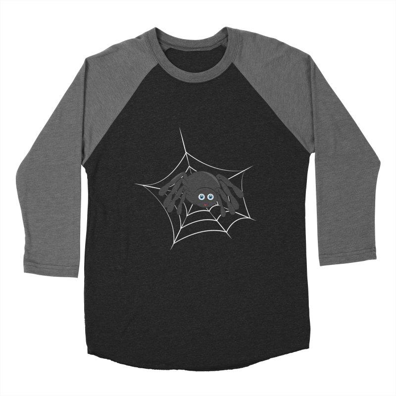 Halloween Spider Women's Baseball Triblend Longsleeve T-Shirt by Magic Pixel's Artist Shop