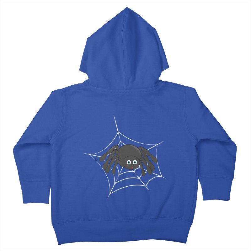 Halloween Spider Kids Toddler Zip-Up Hoody by Magic Pixel's Artist Shop