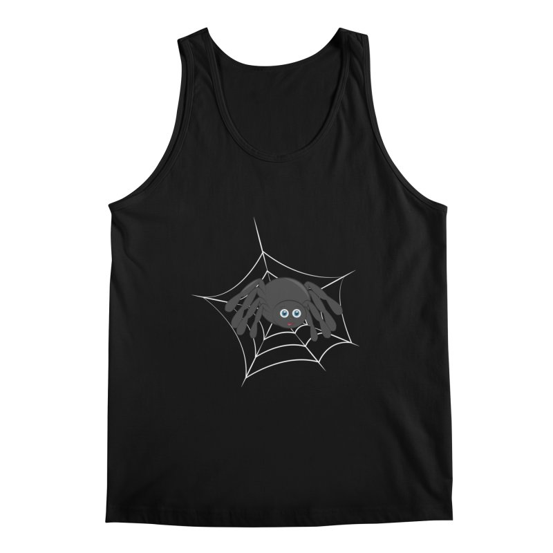 Halloween Spider Men's Regular Tank by Magic Pixel's Artist Shop