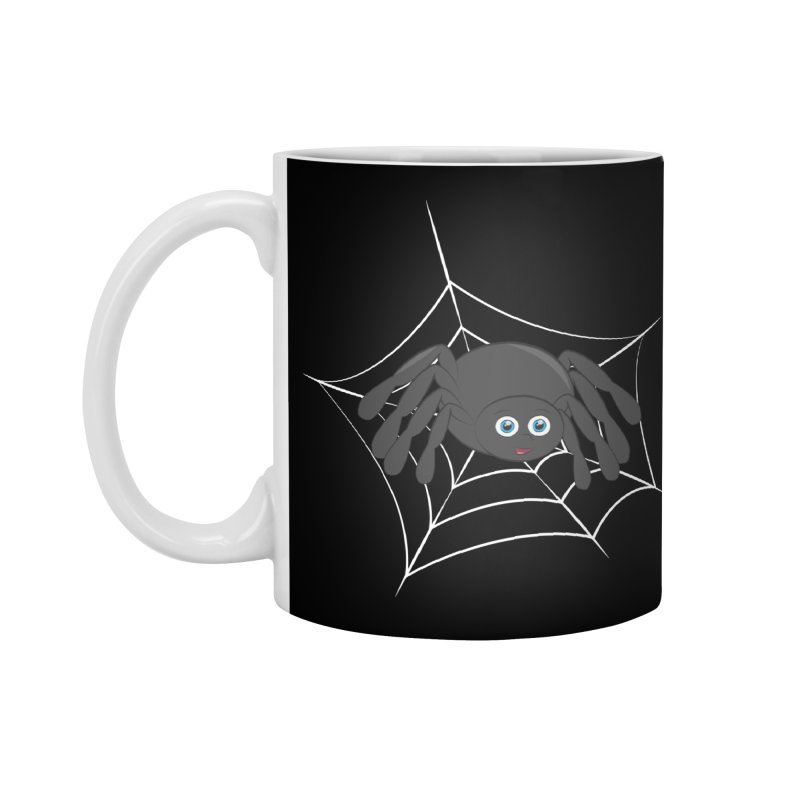Halloween Spider Accessories Standard Mug by Magic Pixel's Artist Shop