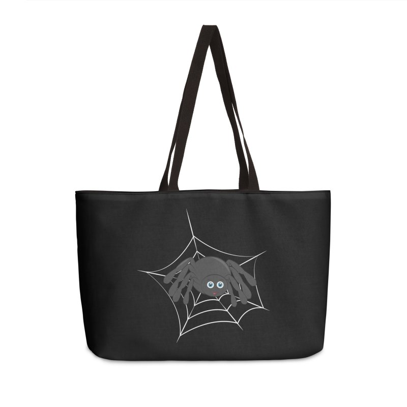 Halloween Spider Accessories Weekender Bag Bag by Magic Pixel's Artist Shop