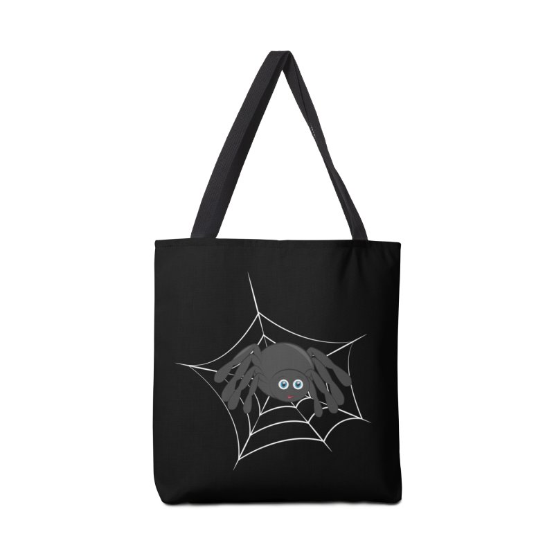 Halloween Spider Accessories Tote Bag Bag by Magic Pixel's Artist Shop