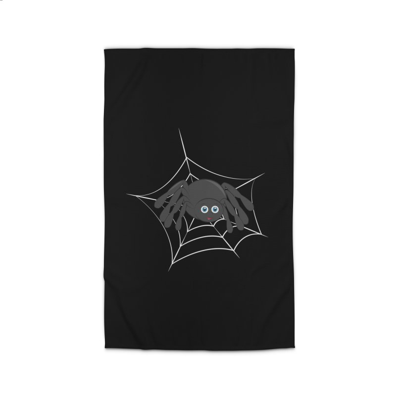 Halloween Spider Home Rug by Magic Pixel's Artist Shop