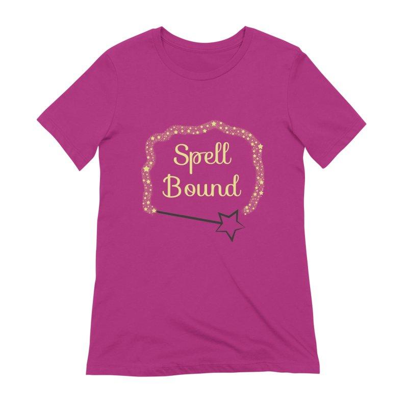 Spell Bound Women's Extra Soft T-Shirt by Magic Pixel's Artist Shop