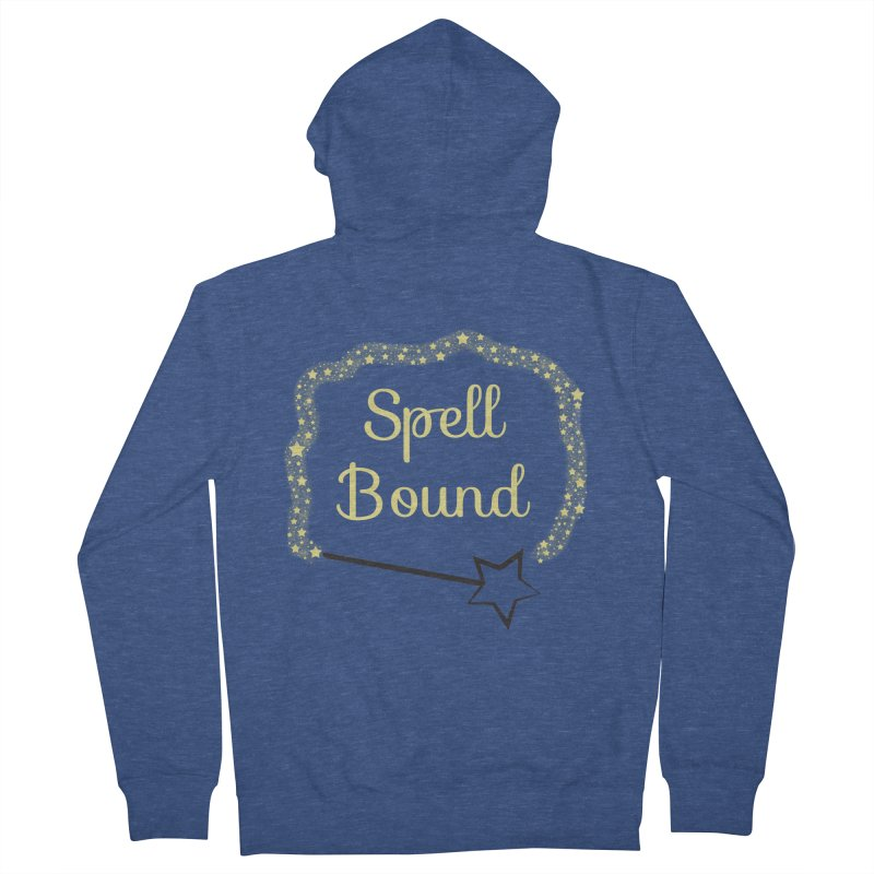Spell Bound Women's French Terry Zip-Up Hoody by Magic Pixel's Artist Shop