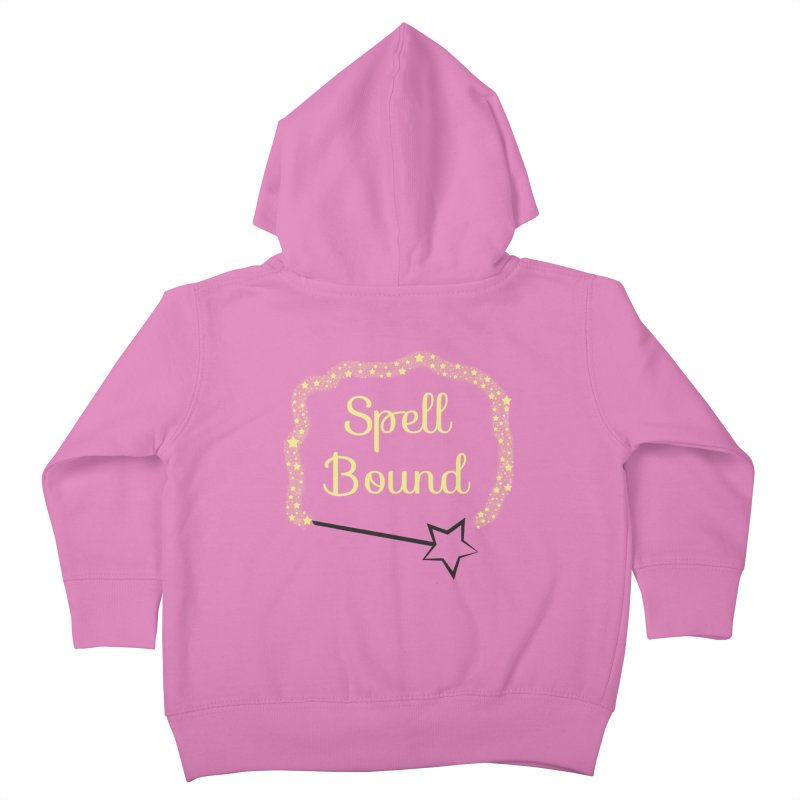 Spell Bound Kids Toddler Zip-Up Hoody by Magic Pixel's Artist Shop